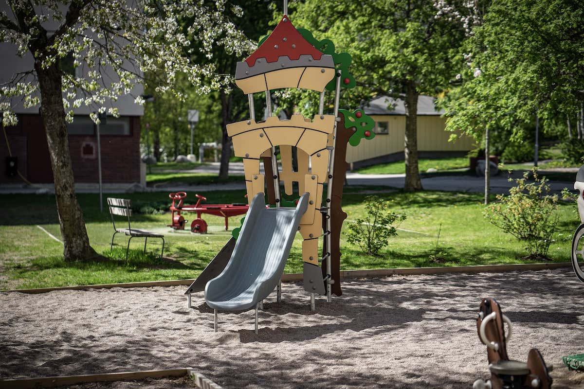 MTB Mark & Trädgårdsbyggarna AB skapar nya lekparker åt bostadsrättsföreningar